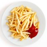 Frasig pommes frites Fotografering för Bildbyråer