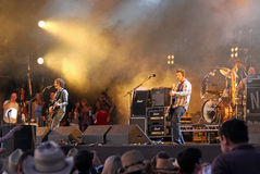The Fratellis live on stage Stock Image