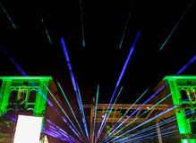 Fratello del laser Fotografie Stock