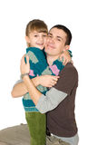 Fratello e la sorella Fotografie Stock Libere da Diritti