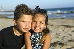 Fratello e sorella Fotografia Stock Libera da Diritti