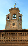Fraternita dei Laici Palace  clock tower in Arezzo Royalty Free Stock Image