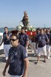 Fraternity of the Virgen del Carmen Stock Photography