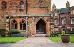 Fratry på Carlisle Cathedral Arkivfoton
