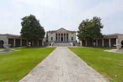 Fratta Polesine (Veneto, Italy) - Villa Badoer Royalty Free Stock Photo