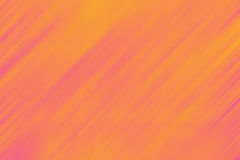Frattale astratto arancio, fondo rosa Immagini Stock Libere da Diritti