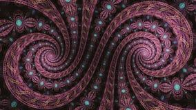 Frattale Fibonacci fotografie stock