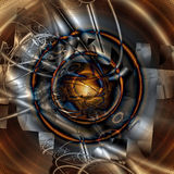 Frattale geometrico IV Immagini Stock