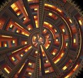 Frattalo a spirale Fotografie Stock