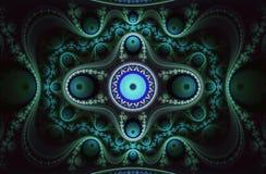 Frattalo a spirale 8 Fotografia Stock Libera da Diritti