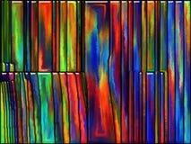 Frattura di colore Immagine Stock