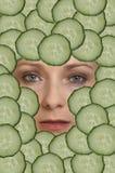 Frau stockbild