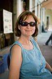 Frau auf Ferien Lizenzfreie Stockfotografie