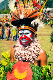 Frau in den Farben Lizenzfreie Stockfotos
