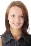 Frau in der beiläufigen Kleidung Lizenzfreies Stockbild