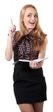 Frau in der Geschäftsart Lizenzfreies Stockbild