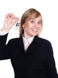 Frau in der Klage Lizenzfreies Stockfoto