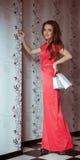 Frau in der Modekleidung Lizenzfreies Stockbild