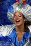 Frau in der Parade Lizenzfreies Stockfoto