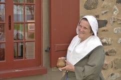 Frau des 17. Jahrhunderts Lizenzfreie Stockbilder