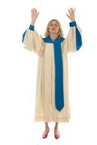 Frau, die 2 betet Lizenzfreie Stockfotos