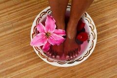 Fuß-Massage lizenzfreie stockfotos
