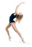 Frau, die einen Tanz durchführt lizenzfreie stockfotos