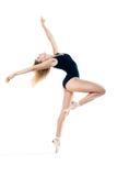 Frau, die einen Tanz durchführt lizenzfreie stockfotografie