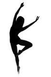 Frau, die einen Tanz durchführt lizenzfreies stockbild