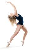 Frau, die einen Tanz durchführt stockfotos