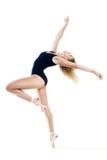 Frau, die einen Tanz durchführt lizenzfreie stockbilder