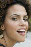 Frau, die sinnlichen Ausdruck bildet Stockbilder
