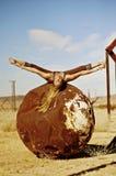 Yoga-Ausdrücke Lizenzfreies Stockbild
