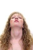 Frau in einer sinnlichen Haltung Lizenzfreie Stockfotos