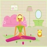 Frau entspannen sich Stockfoto
