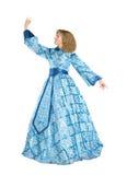 Frau in fancydress Stockfotos