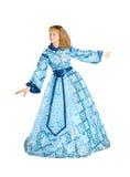 Frau in fancydress Stockfoto
