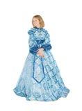 Frau in fancydress Lizenzfreie Stockbilder