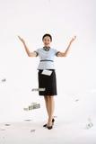 Frau in Geschäft III Lizenzfreie Stockbilder