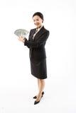 Frau in Geschäft III Stockfotos