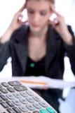 Frau - Geschäft, Lehrer, Rechtsanwalt, Kursteilnehmer, usw. Lizenzfreie Stockfotografie