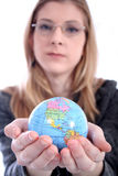 Frau - Geschäft, Lehrer, Rechtsanwalt, Kursteilnehmer, usw. Lizenzfreie Stockfotos