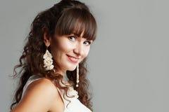 Frau Headshot Stockfoto