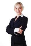 Frau im Anzug Lizenzfreie Stockfotos