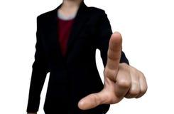 Frau im Büro Lizenzfreie Stockfotos