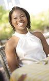 Frau im Geschäftstreffen Lizenzfreies Stockfoto