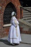 Frau im kroatischen nationalen Kostüm Stockbilder