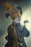 Frau im mittelalterlichen Kostüm Lizenzfreies Stockfoto