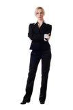 Frau im Pantsuit Stockbilder