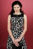 Frau im Studio Stockfotos